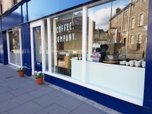 Our Hawick cafe on the High Street