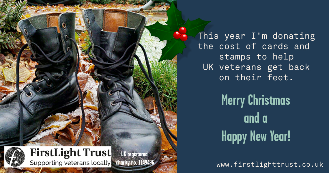 Veterans Christmas Charity virtual cards