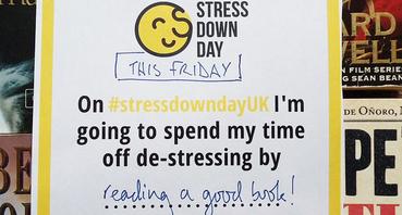 Stress Down Day pledge