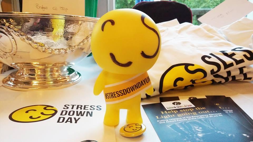 Stress Down Day UK merchandise