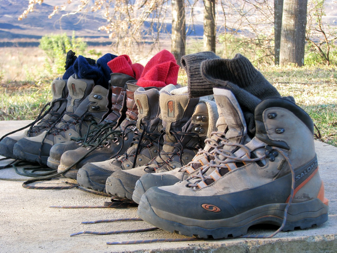 Hiking boots - soldier 30:30 challenge