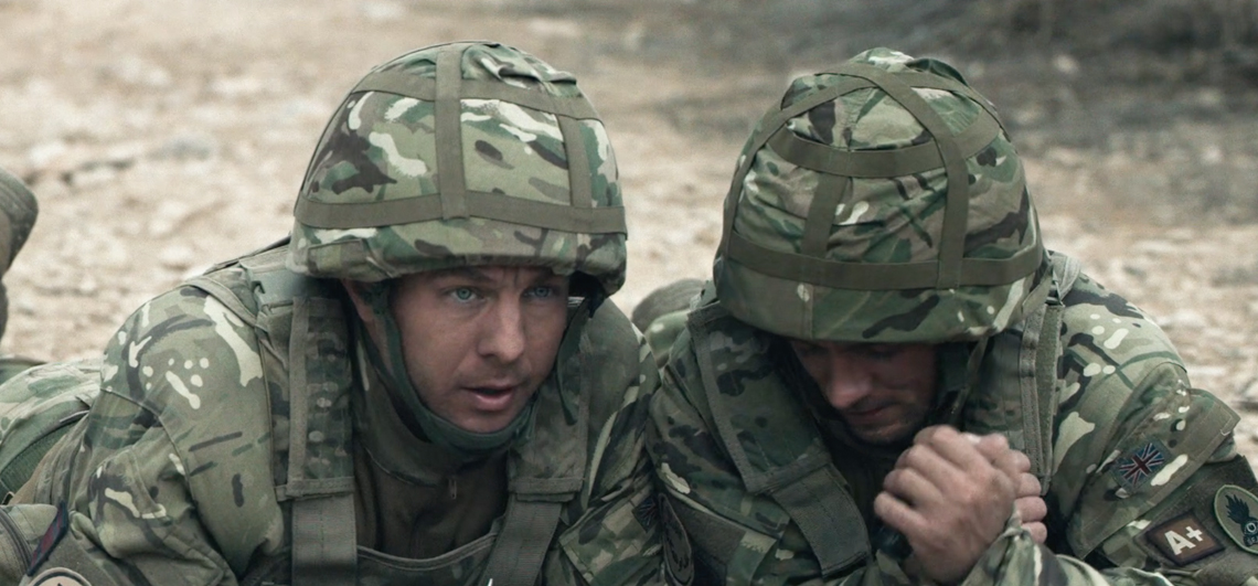 Tomorrow film - still of two soldiers in Afghanistan