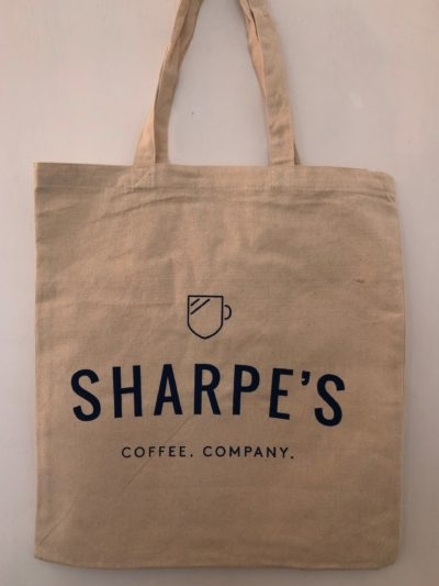 Sharpe's tote bag